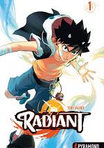 Cover: PYRAMOND   Radiant (Tony Valente)