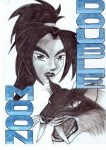 Cover:  Beitrag für Comics in Leipzig 2003