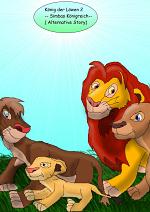 Cover: Der König der Löwen 2-- Alternative