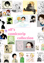 Cover: Elf's Comicstrips Collection