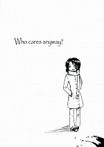Cover: Who cares anyway?