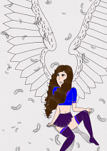 Cover: A Demon with Angel wings!