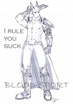 Cover: BLOOD SPORT - I rule you suck!