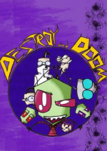 Cover: DESTROY and DOOM