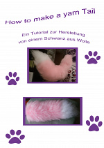 Cover: How to make a yarn Tail ~ Wie mache ich einen Schwanz aus Wolle~