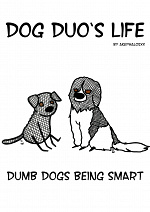 Cover: Dumb dogs being smart