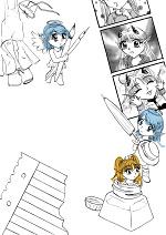 Cover: Zeichnend Stories erzählen     (Dojinshi/Manga-Tutorial)