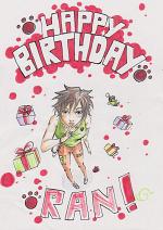 Cover: Happy Birthday Ran!