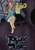 Cover: Town of Music (Schulprojekt)