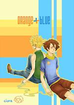 Cover: Orange + Blue