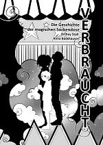 """Cover: VERnarrt 1 - """"VERbraucht -  Die Geschichte der magischen Sockendose"""""""