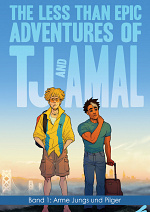 Cover: [Fireangels] The less than epic adventures of TJ and Amal