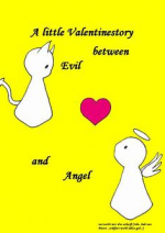 Cover: A little Valentinestory between Evil and Angel