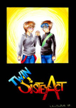 Cover: TwinSister Act (Manga Magie)