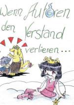 Cover: Wenn Autoren den Verstand verlieren...