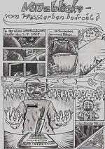 Cover: Notizblöcke-vom Aussterben bedroht? -Ein Schulalltag