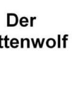Cover: Der Plättenwolf