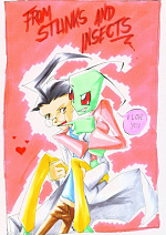 Cover: Invader Zim - From Stunks and Insects
