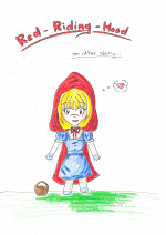 Cover: Red riding Hood- an other story