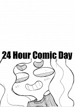 Cover: 24 hour Comic challenge ...fail