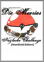 Cover: Die Meeries - Nuzlocke Challenge [HeartGold-Edition] (Band 2)
