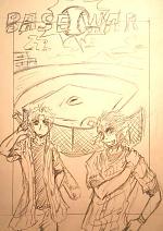 Cover: BASE WAR! - Kurzgeschichte für den Crazy Bat-Manga Wettbewerb 2015 -