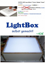 Cover: LightBox selbst gemacht