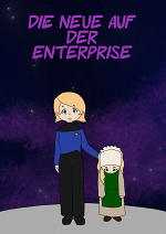 Cover: Die Neue auf der Enterprise