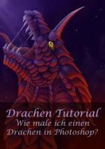 Cover: Wie mal ich einen Drachen in Photoshop