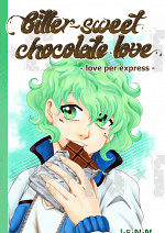 Cover: Bitter-sweet chocolate love - love per express-