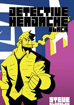 Cover: Detective Headache Black