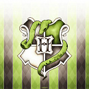 Cover: Slytherin lion