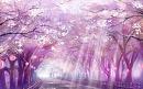 Cover: Fallende Blüten