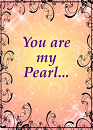 Cover: You are my Pearl...