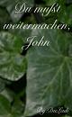 Cover: Du mußt weitermachen, John!