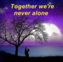 Cover: Together we're never alone
