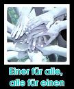 Cover: Einer für alle, alle für einen