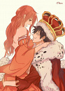 Cover: The Pirate king and his Queen