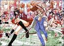Cover: Magister Negi Magi und Ministra Asuna