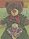 """Cover: Der Teddy """"Keine Ahnung"""" und die Puppe """"Roswitha"""""""