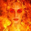 Cover: Die von Feuer Geküsste