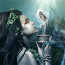 Cover: Die kleine Meerjungfrau und der Wassermann vom Sternenhimmel