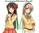 Cover: A surprising Valentine's Day gift