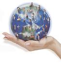 Cover: Wörtertanz mit einem Globus