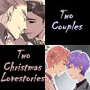 Cover: Two Couples - Two Christmas Lovestories