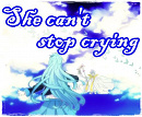 Cover: She can't stop crying