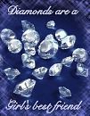 Cover: Diamonds are a Girl's best friend