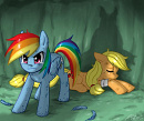 Cover: My Little Pony - I'll never forget you [AppleDash]