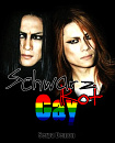 Cover: Schwarz, rot, gay