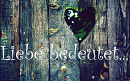 Cover: Liebe bedeutet...